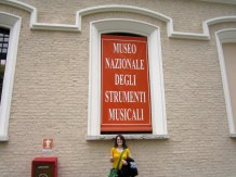 The Italian Musical Instrument museum... If that isn't cultured...