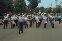 Our first parade at another nearby town back in 2000.