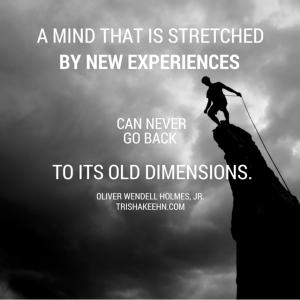 Oliver Wendell Holmes, Jr., trishakeehn.com, mind stretched