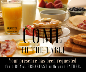 prayer, breakfast, most important meal of the day, trishakeehn.com