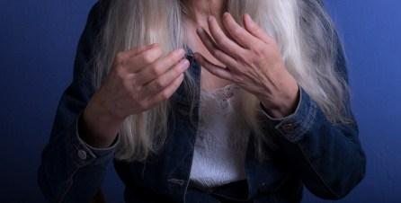 Trisha's hands