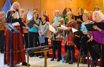 Sutton Gospel Choir performance