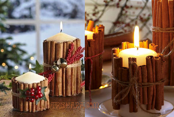 koritsa Новогодние свечи 2019 своими руками: техники изготовления, декупаж, фото вариантов декора свечей