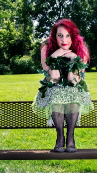 Poison Ivy Apron