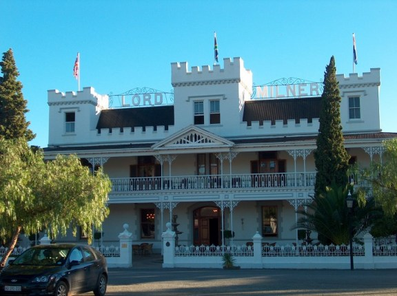 Lord Malvern hotel in Matjiesfontein
