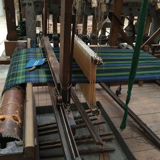 tartan weaving