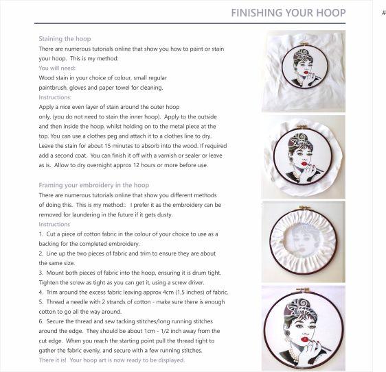 Hoop art instruction booklet2