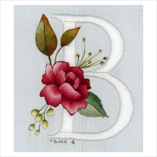 floral alphabet 3