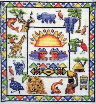African Cross Stitch