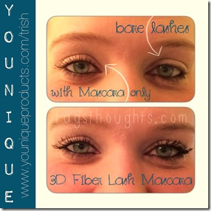 Younique 3D Fiber Lash Mascara by Trish trishsutton.com #younique #fiberlashmascara