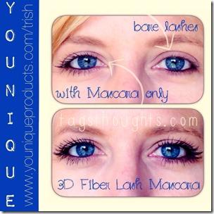 Younique 3D Fiber Lash Mascara by Trish trishsutton.com #younique #fiberlashmascara