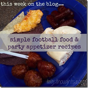 Happy NFL Kickoff Sunday! Our family observes NFL Kickoff Sunday as a holiday. Our holiday includes our closest friends, family & plenty of party appetizers. TrishSutton.com