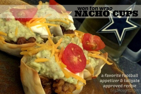 Won Ton Wrap Nacho Cups