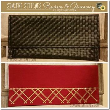 Sincere Stitches Review & Giveaway by trishsutton.com