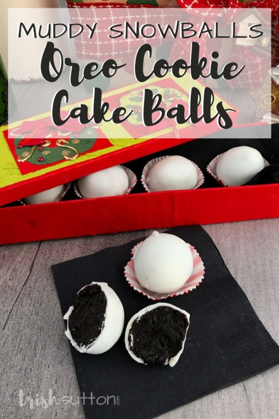 Create the most amazing no bake cookie recipe with only three ingredients. Crushed OREOs turned Oreo Cookie Cake Balls or as my brother calls them OREO BOMBS. TrishSutton.com