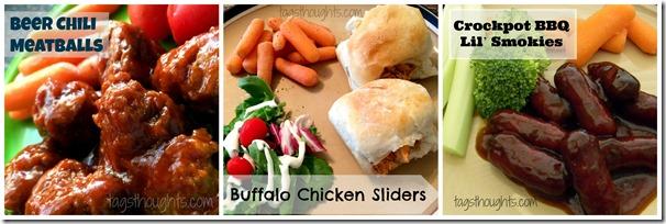 Super Bowl Appetizers by trishsutton.com