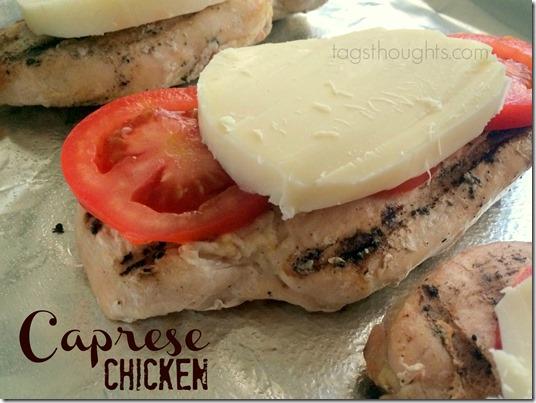 Caprese Chicken Recipe, a simple dinner recipe by Trish Sutton.