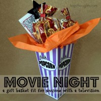 Movie Night Gift Basket, TrishSutton.com