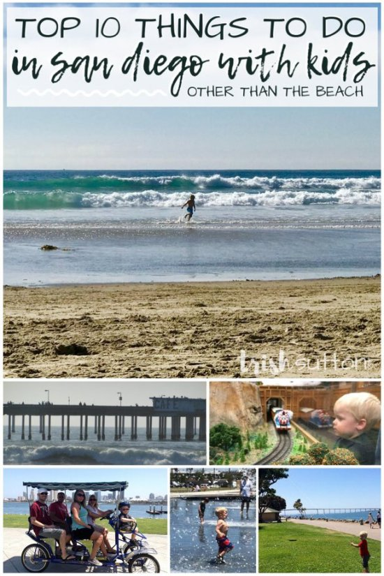 Top 10 Things To Do With Kids in San Diego; a kid friendly family vacation destination with year round moderate & inviting weather.