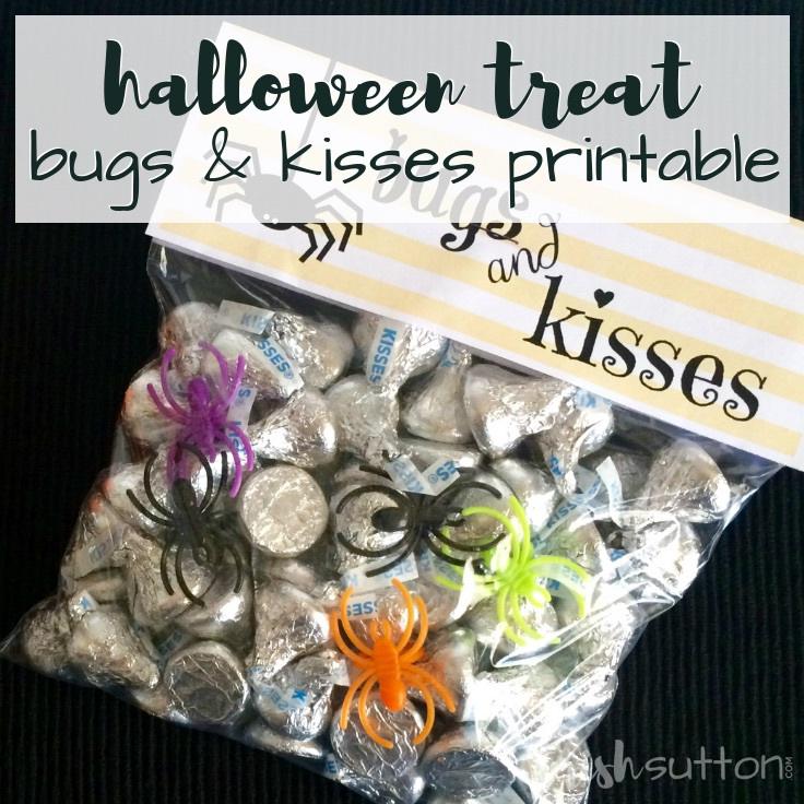 It is a photo of Current Bugs and Kisses Printable