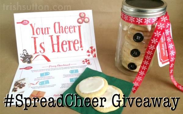 Spread Cheer With Betty Crocker; Sugar Cookie Snowball Recipe & Giveaway. Recipe by Trish Sutton, #SpreadCheer Giveaway sponsoredby Betty Crocker.