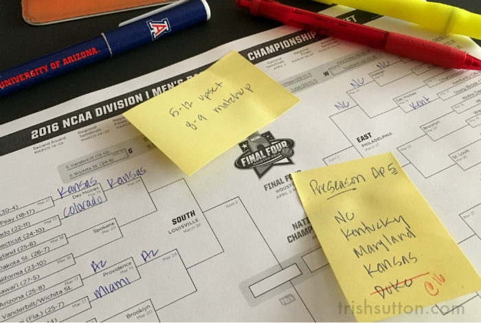 Method To March: How I Select Teams For My Bracket {2 Cash Contests}