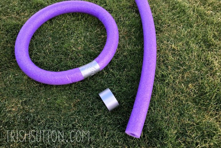 Pool Noodle Ring Toss Yard Game, TrishSutton.com
