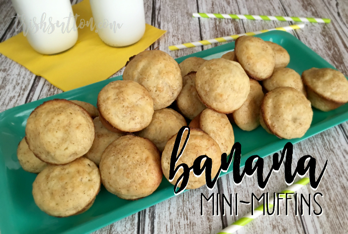 Recipe: Banana Mini-Muffins, TrishSutton.com