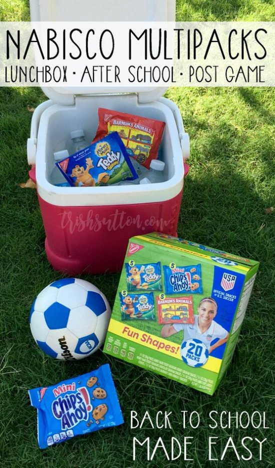 Back To School Made Easy: Multipack Snacks And Chocolate Dipped RITZ Bits #ad #PackSnacksTheyLove TrishSutton.com