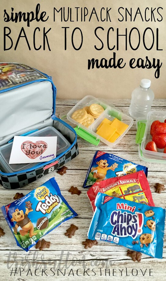 Back To School Made Easy: Multipack Snacks And Chocolate Dipped RITZ Bits. TrishSutton.com