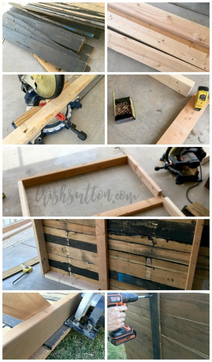 Diy Outdoor Wood Pallet Privacy Screen Problem Solved