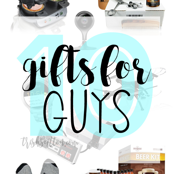 Gift Guide For Him; Christmas Gifts For Guys, 10 Gifts for Men. TrishSutton.com.jpg