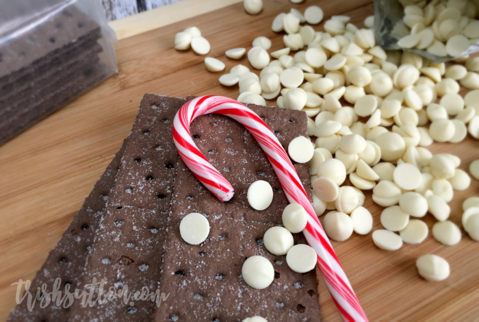 Simple Chocolate Peppermint Bark, TrishSutton.com