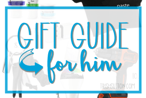 Gift Guide For Him: Father's Day Must Haves from $22 to $249. trishsutton.com