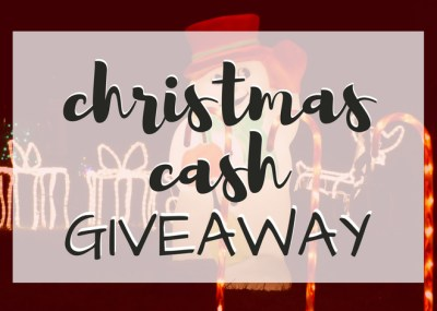 Christmas Cash Giveaway, TrishSutton.com