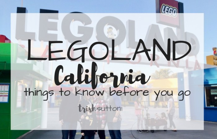 LEGOLAND California; Things to Know Before You Go. TrishSutton.com