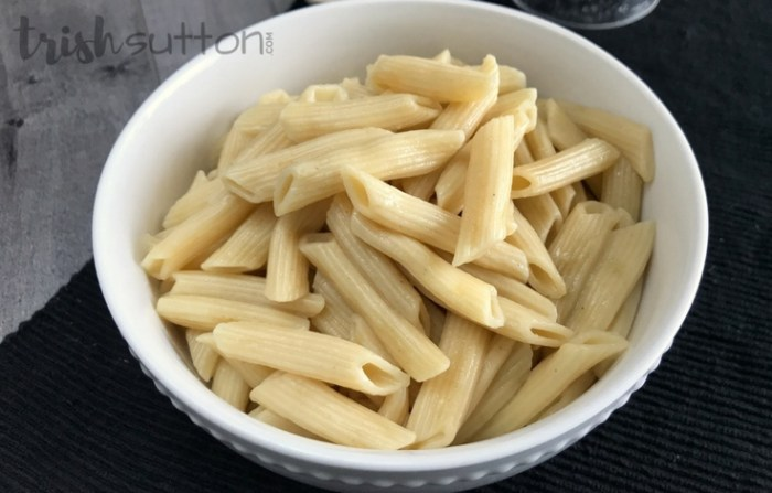 Pressure Cooker Pasta | How to Prepare Pasta in the Instant Pot - TrishSutton.com