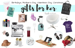 Gift Guide for Mother's Day, Birthday, Christmas, Valentine's Day TrishSutton.com