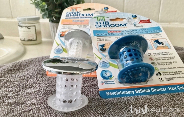 TubShroom; this revolutionary device is a game changer. No more hair clogs, no more plumbers and no more chemicals. #ad #TubShroom TrishSutton.com