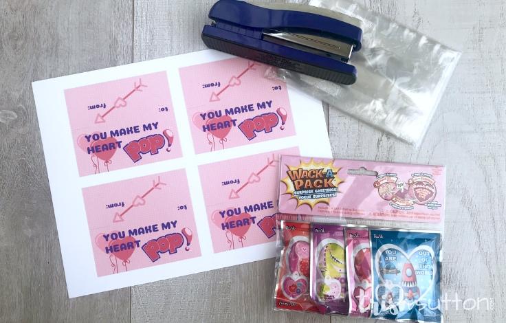 Wack-A-Pack Valentine Printable | You Make My Heart Pop TrishSutton.com