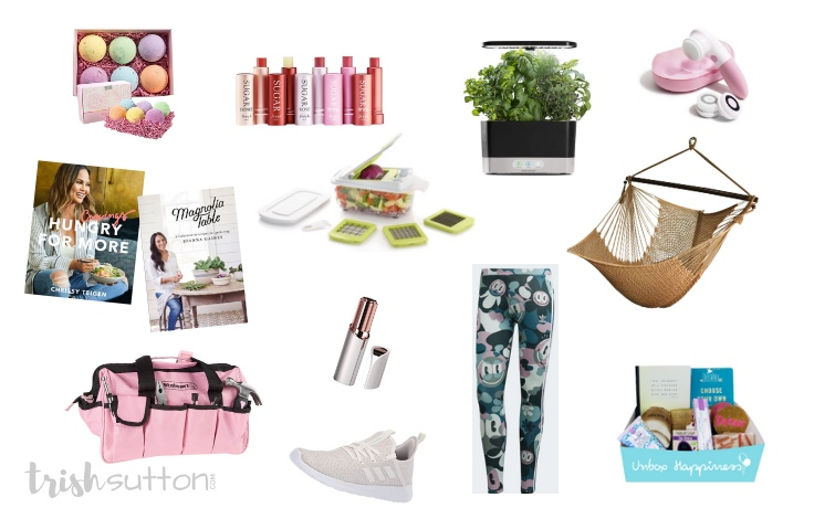Gift Guide for the Ladies | 20+ Gift Ideas and Mother's Day. #mothersday #giftguide #bytrishsutton