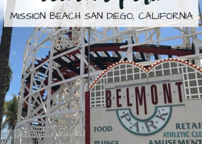 This beachfront amusement park is popular with tourist and locals alike. Belmont Park is situated on the boardwalk of Mission Beach in San Diego, California.