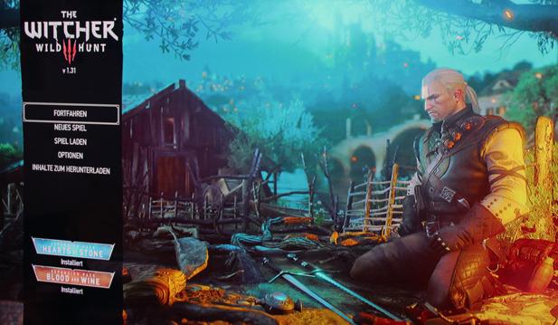 The Witcher Wild Hunt Introbildschirm