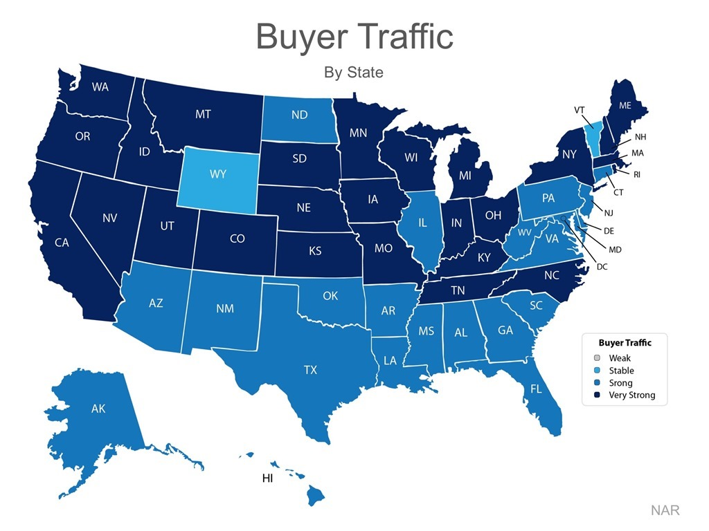 Buyer Traffic by State