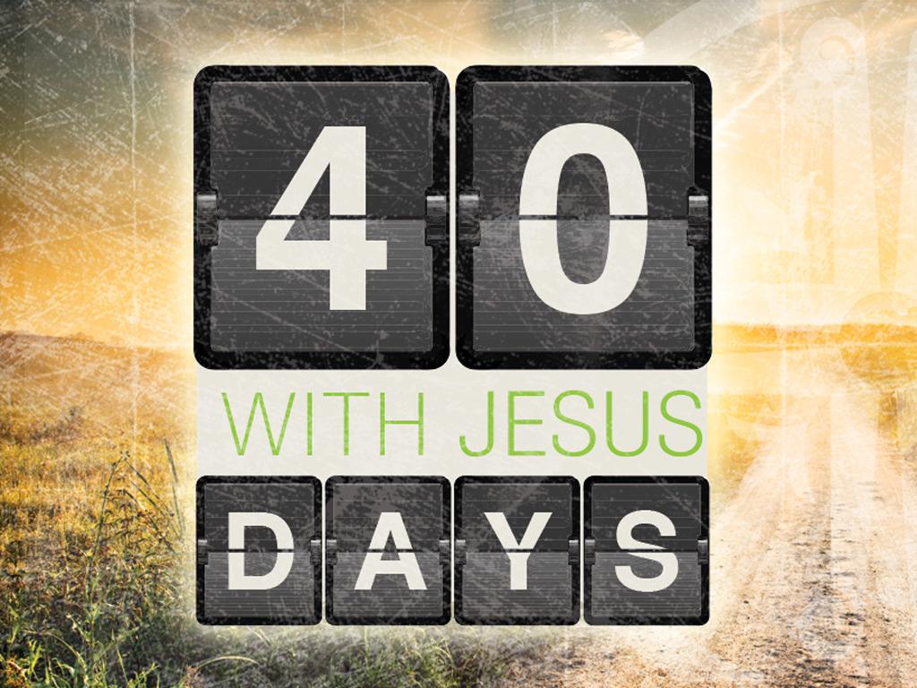Graphic Design: 40 Days Event