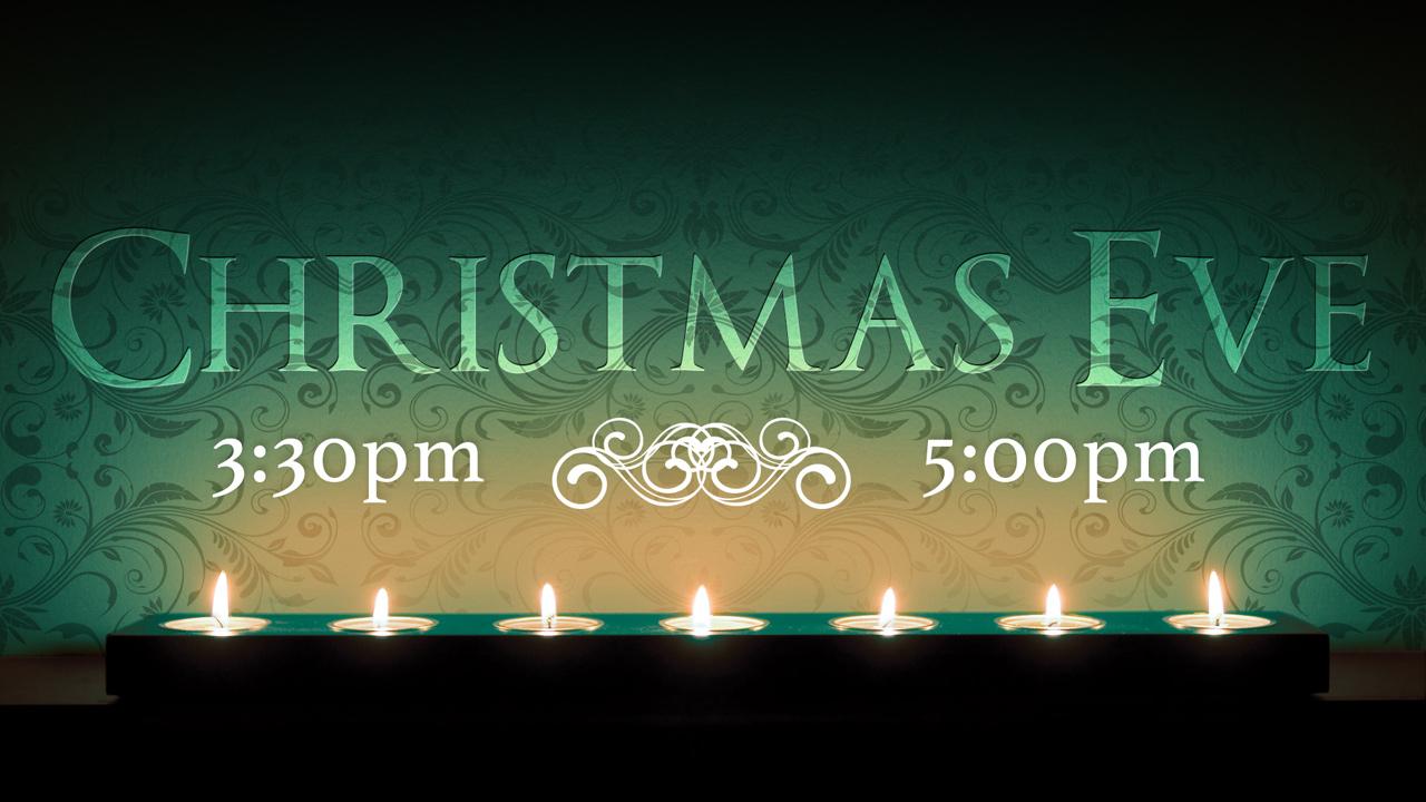 Graphic Design: Christmas Eve Event