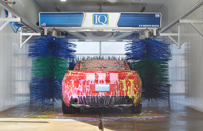 IQ Soft Touch In Bay Automatic Car Wash