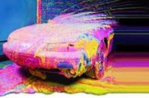 Tri-color foam distributed by Tri State Car Wash Solutions