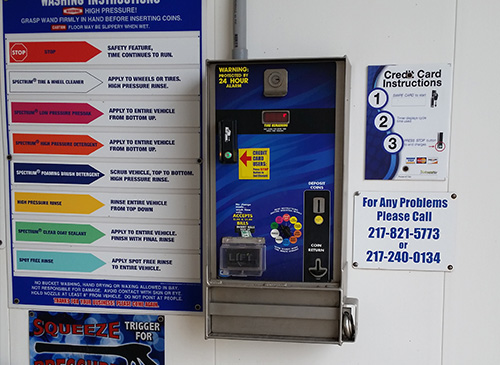 Self Serve Car Wash Coin Meter distributed by Tri State Car Wash Solutions
