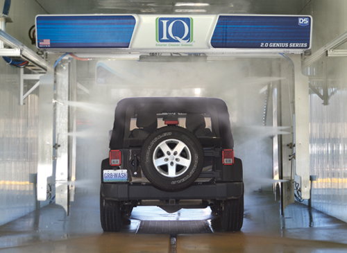 IQ 2.0 Touch Free In Bay Automatic distributed by Tri State Car Wash Solutions